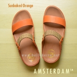 **พร้อมส่ง** FitFlop AMSTERDAM : Sunbaked Orange : Size US 6 / EU 37
