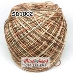 สหสินเส้นอ้วน สีเหลือบ SD1002