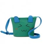 """""""พร้อมส่ง""""กระเป๋าแฟชั่นBeibaobao กระเป๋าสะพาย หน้าการ์ตูน น่ารักๆ -สีเขียว"""