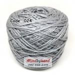 ไหมเบบี้ซิลค์ (ฺBaby Silk) รหัสสี 024 สีเทาอ่อน