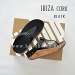 FitFlop : IBIZA Cork : Black : Size US 5 / EU 36