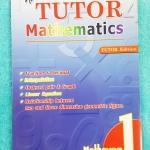 ►The Tutor◄ หนังสือเรียนคณิตศาสตร์ ม.1 มีเนื้อหา และสรุปสูตรในชั้น ม.1 มีโจทย์ฝึกฝนทักษะ และเฉลยด้านหลัง หนังสือใหม่เอี่ยม &#x2611 300 ฿