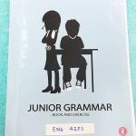 ►ครูพี่แนน Enconcept◄ ENG 4252 อังกฤษ ม.ต้น Junior Grammar Book and Exercises สรุปแกรมม่าภาษาอังกฤษระดับชั้น ม.ต้น จดครบทั้งเล่ม จดละเอียดด้วยดินสอและปากกา มีกฎเหล็ก + เทคนิคลัดการจำแกรมม่าหลายข้อ เล่มหนาใหญ่