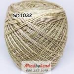 สหสินเส้นอ้วน สีเหลือบ SD1032
