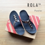 ** NEW ** FitFlop : ROLA : Pewter : Size US 8 / EU 39