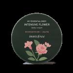 Preorder Innisfree My essential body intensive flower body cream 150ml 마이 에센셜 바디 인텐시브 플라워 바디 크림 14000won