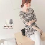 ♡♡pre-order♡♡ เสื้อผ้าลูกไม้หวานๆ แขนยาวคอกลม ใส่ทำงานน่ารักๆ