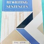 ►เตรียมอุดม◄ ENG 6334 Rewriting Sentences สรุปหลักการการเขียน Writing ทั้งหมด มีข้อสังเกตสำคัญ และจุดที่ต้องระวังเป็นพิเศษหลายจุด อ.เอมอุษา อธิบายละเอียด พร้อมยกตัวอย่างทีละด้านอย่างละเอียด Test แบบฝึกหัดมีเขียนด้วยดินสอ 9 หน้า มี Test รวม 10 ชุด + Revisi