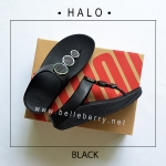 * NEW * FitFlop : HALO : Black : Size US 6 / EU 37
