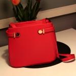 กระเป๋าแฟชั่นAxixi กระเป๋าสะพาย สีน่ารัก -สีแดง
