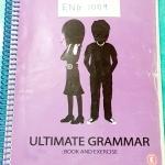 ►ครูพี่แนน Enconcept◄ ENG 1009 หนังสือเรียน Ultimate Grammar สรุปแกรมม่าภาษาอังกฤษทุกเรื่องในเล่มเดียว มี Trick เทคนิค วิธีการทำข้อสอบมากมายจากครูพี่แนน ด้านหลังมีเฉลยและคำอธิบายละเอียด จดเกินครึ่งเล่ม จดด้วยปากกาสี จดละเอียด