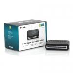 """S/W Gigabit 10/100/1000 HUB 5 port """"D-LINK"""" (DGS-1005A)"""