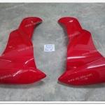 บังลมหน้า ซ้าย-ขวา SPARK-Z สีแดง แท้ศูนย์