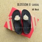 **พร้อมส่ง** FitFlop : BLOSSOM II Sandal : All Black : Size US 8 / EU 39