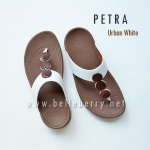 * NEW * FitFlop PETRA : Urban White : Size US 7 / EU 38
