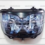 ไฟหน้า DASH-NEW-RS ตาเพชร (เบ้าฟ้า)