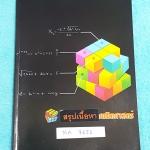 ►G-Student◄ MA 7651 สรุปเนื้อหา ม.6 วิชาคณิตศาสตร์ มีสรุปสูตรสำคัญทั้งหมด เน้นเนื้อหา มีโจทย์และตัวอย่างข้อสอบ ในหนังสือมีจดเล็กน้อย