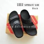 **พร้อมส่ง** FitFlop LULU Superglitz Slide : Black : Size US 6 / EU 37