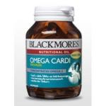 Blackmores Omega Cardi Odourless (Fish Oil) 60 แคปซูล น้ำมันปลาไร้กลิ่นคาว ให้โอเมก้า-3 เข้มข้น สูงกว่ามาตรฐาน 2 เท่า ช่วยลดลดคลอเรสเตอรอลได้ดี