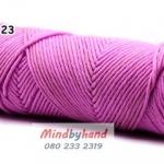 ไหมพรมวาเลนไทน์ รหัสสี 23 Pink Lotus