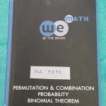 ►We Brain◄ MA FR33 หนังสือกวดวิชา คณิตศาสตร์ ม.5 วิธีเรียงสับเปลี่ยน และวิธีจัดหมู่ ความน่าจะเป็น มีสรุปเนื้อหา สูตรสำคัญ ก่อนตะลุยทำโจทย์แบบฝึกหัด มีข้อควรรู้ ข้อควรระวัง เทคนิคลัดเยอะมาก จดครบเกือบทั้งเล่ม จดละเอียด