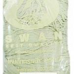 เชือกร่มดิ้นเงิน ตราหงส์ สวอน (ตราหงส์) 202 สีครีมขาว