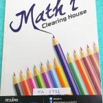 ►พี่ท๊อปปิ้ง◄ MA 6311 หนังสือกวดวิชา BTS อ.ธนภัทร Math 2 Clearing ม.ปลาย เป็นโจทย์ทั้งเล่ม มีจดเฉลยละเอียดบางข้อ ลายมือจดตัวเล็ก เป็นระเบียบเรียบร้อย หนังสืิอเล่มหนาใหญ่