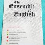 ►สอบเข้าเตรียมอุดม◄ ENG 6170 The Ensemble of English หนังสือสรุปเนื้อหาภาษาอังกฤษ จัดทำโดยรุ่นพี่ ร.ร.เตรียมอุดมศึกษา มี Grammar Tips เทคนิคการดูหลักไวยากรณ์ และเทคนิคการทำข้อสอบใน Part ต่างๆ มีแนวข้อสอบ 5 ชุด ชุดละ 50 ข้อ มีเฉลยละเอียดด้านหลัง หนังสือขาย