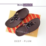 * NEW * FitFlop : BOOGALOO : Deep Plum : Size US 7 / EU 38