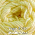 ไหมพรม Eagle กลุ่มใหญ่ สีพื้น รหัสสี 021