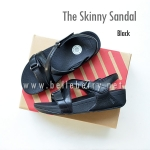 FitFlop The Skinny Sandal : Black : Size US 6 / EU 37