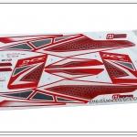 สติ๊กเกอร์ PCX150 ปี 2015 สีแดง-ดำ