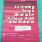►เดอะเบรน◄ MA 7808 หนังสือเรียน คณิตศาสตร์เข้มข้น ม.3 การแยกตัวประกอบของพหุนาม กราฟ ความคล้าย พื้นที่ผิวและปริมาตร สรุปสูตรทุกบท ก่อนเริ่มทำโจทย์แบบฝึกหัด มีเฉลย + เฉลยแบบแสดงวิธีทำละเอียด จดละเอียด จดครบเกือบทั้งเล่ม มี จดสูตร Super ลัดเพิ่มเติมหลายสูตร
