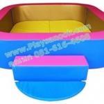 EVB-03 บ่อบอลสี่เหลี่ยมชุดมุมโค้ง