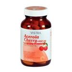 Vistra Acerola Cherry 1000mg 45 แคปซูล ช่วยเพิ่มการดูดซึมของกลูต้าไธโอน มากถึง4 เท่า ทำให้ผิวขาวใสอมชมพู