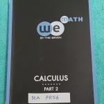 ►We Brain◄ MA FR06 หนังสือกวดวิชา คณิตศาสตร์ ม.6 แคลคูลัส เล่ม 2 มีสรุปเนื้อหา สูตรสำคัญ ก่อนตะลุยทำโจทย์แบบฝึกหัด มีข้อควรรู้ ข้อควรระวัง เทคนิคลัดเยอะมาก จดครบเกือบทั้งเล่ม จดละเอียด โจทย์ Assignment มีเฉลยละเอียดและวิธีทำละเอียด