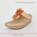 * NEW * FitFlop : BOOGALOO : Rose Gold : Size US 8 / EU 39