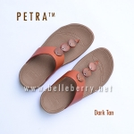 * NEW * FitFlop PETRA : Dark Tan : Size US 7 / EU 38