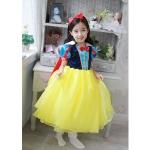 "size 80""พร้อมส่ง""เสื้อผ้าเด็กสไตล์เกาหลีราคาถูก Brand Cool Elves ชุดแฟนซี Snow white เดรสเสื้อคอปกสีน้ำเงินแดง แขนพอง ต่อกระโปรงและคลุมผ้าตาข่ายสีเหลือง ด้านหลังผ้าสีแดงมีกระดุมติด ซิปหลัง สวยค่ะ"
