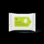 Preorder Innisfree Apple seed cleansing tissue 애플 씨드 클렌징 티슈 15매 2000won
