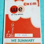 ►วีเบรน◄ CHE 8253 หนังสือกวดวิชา วีเบรนซัมมารี่ We Summary The Winner Edition สรุปเนื้อหาวิชาเคมีทั้งหมด สรุป Idea และเทคนิคสำคัญ พร้อมทั้งตัวอย่างโจทย์ในแต่ละหัวข้ออย่างครบถ้วน เพื่อใช้อ่านทบทวน และสร้างความมั่นใจในการสอบทุกสนาม พิมพ์สีทั้งเล่ม มีภาพน่าร