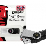 "Flash Drive 16GB ""Kingston"" ( DT101-G2 )"
