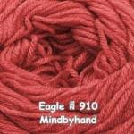 ไหมพรม Eagle กลุ่มใหญ่ สีพื้น รหัสสี 910