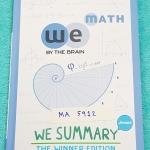 ►วีซัมมารี่◄ MA 5912 We Summary The Winner Edition หนังสือกวดวิชาสรุปเนื้อหาคณิตศาสตร์ ม.ต้น ครบทั้งหมดทุกบท อ่านเข้าใจง่าย ในหนังสือมีรวบรวมสูตร ,Concept สำคัญรวมถึงมีสูตรลัดและเทคนิควิธีคิดแบบเหนือชั้นของอาจารย์ เหมาะสำหรับนักเรียนชั้นม.ต้น ที่กำลังเตรี