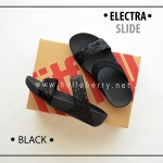 * NEW * FitFlop Electra Slide : Black : Size US 5 / EU 36
