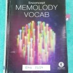 ►ครูพี่แนน เอ็นคอน◄ ENG 5217 หนังสือกวดวิชา ครูพี่แนน คอร์ส Memolody Vocab หนังสือรวมเนื้อเพลงต่างๆของครูพี่แนน Enconcept ซึ่งแบ่งออกเป็นหมวดดังนี้ 1.Inspiration Song 10 เพลง 2.Conversation Songs 12 เพลง 3.Phrasal Verb Songs 8 เพลง 4.Root Songs 19 เพลง 5.