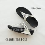 **พร้อมส่ง** FitFlop : CARMEL Toe-Post : Urban White : Size US 5 / EU 36