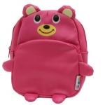 """""""พร้อมส่ง""""กระเป๋าเป้เด็กราคาถูก Brand LINDALINDA เหมาะกับเด็กเล็กในการสะพายไปเที่ยว หรือไปเรียนค่ะ มี2ซิป จุของได้เยอะค่ะ -ลายหมีชมพู"""