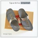 FitFlop : Sparklie Crystal : Pewter : Size US 7 / EU 38