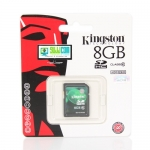 "SD Card 8GB ""Kingston"" (SD10V, Class 10)"